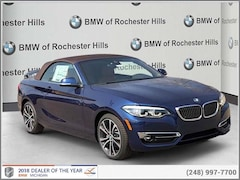 New 2019 BMW 230i xDrive Convertible for Sale near Detroit