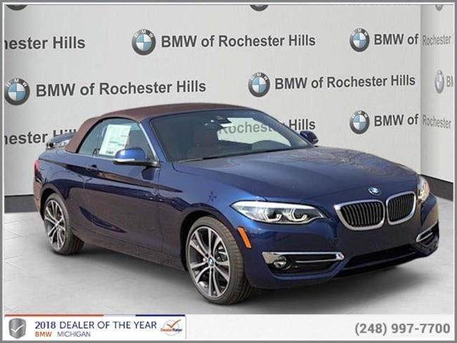 new 2019 BMW 230i xDrive Convertible in Shelby MI