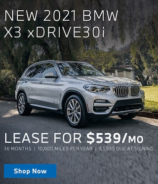 New 2021 X3 Lease Offer