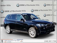 New 2018 BMW X5 xDrive35i SAV for Sale near Detroit