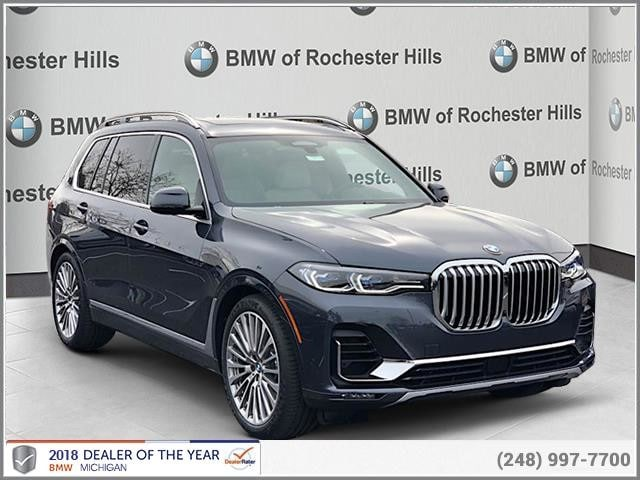 New 2019 Bmw X7 Xdrive50i In Shelby Township Mi Near Detroit Sterling Heights Vin 5uxcx4c50klb39992