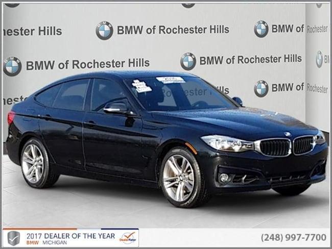 certified used 2016 BMW 328i xDrive SULEV Gran Turismo shelby township MI