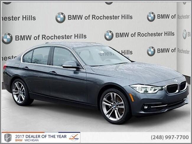 new 2018 BMW 330i xDrive Sedan in Shelby MI