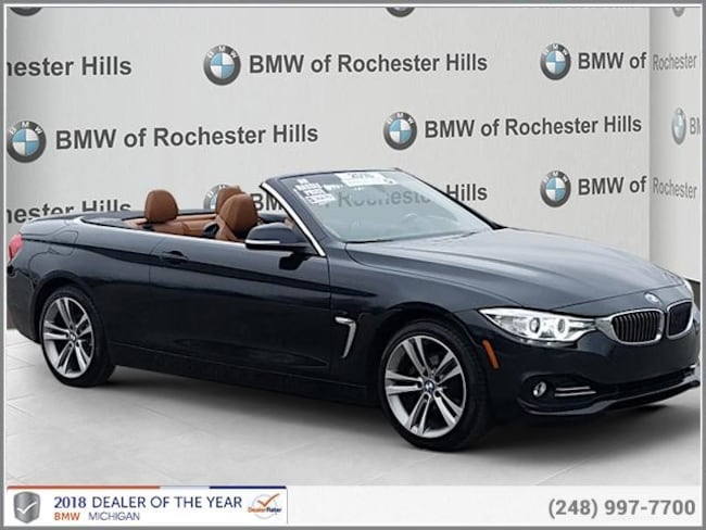 certified used 2016 BMW 428i xDrive SULEV Convertible shelby township MI
