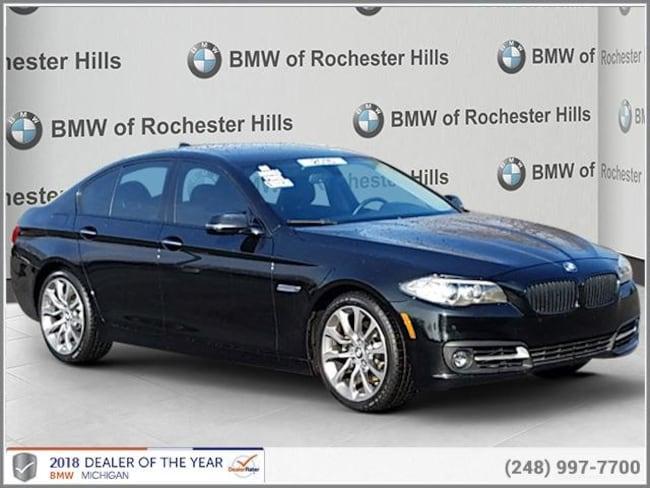 certified used 2016 BMW 528i xDrive Sedan shelby township MI