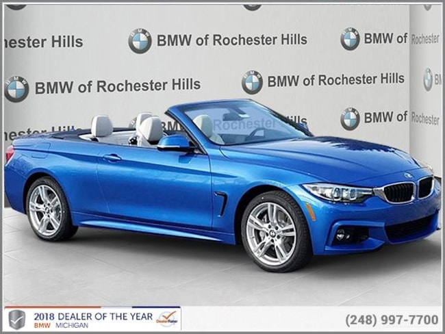 new 2019 BMW 440i xDrive Convertible in Shelby MI