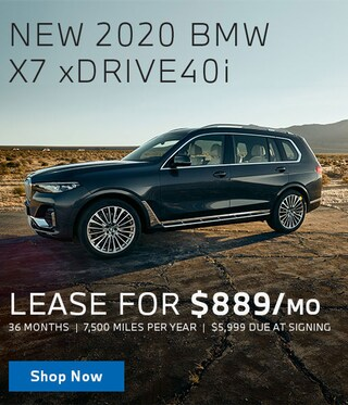 New X7 Lease Offer