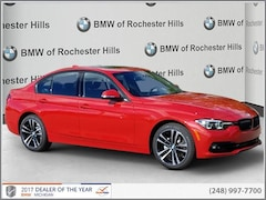 New 2018 BMW 330i xDrive Sedan WBA8D9C58JA615942 for Sale near Detroit