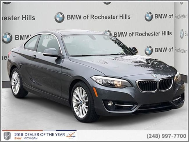 certified used 2016 BMW 228i xDrive Coupe shelby township MI