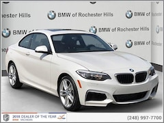 BMW Certified 2016 BMW 228i xDrive Coupe for sale near Detroit