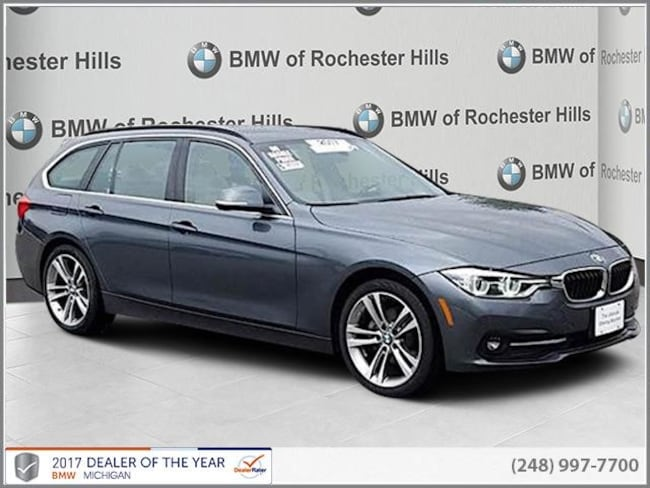 certified used 2017 BMW 328d xDrive Sports Wagon shelby township MI