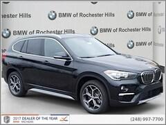 New 2018 BMW X1 xDrive28i SAV WBXHT3C33J3H32744 for Sale near Detroit