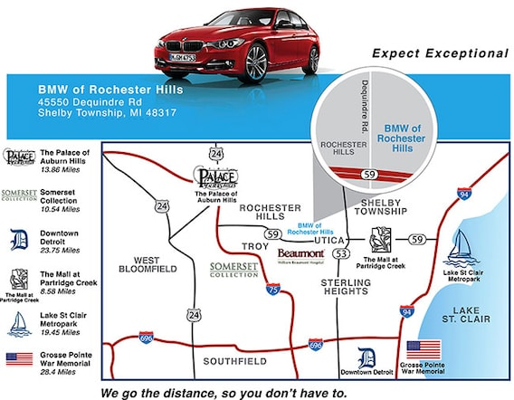 about the bmw dealership michigan shelby township mi detroit bmw of rochester hills bmw of rochester hills