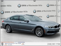 New 2019 BMW 530i xDrive Sedan for Sale near Detroit