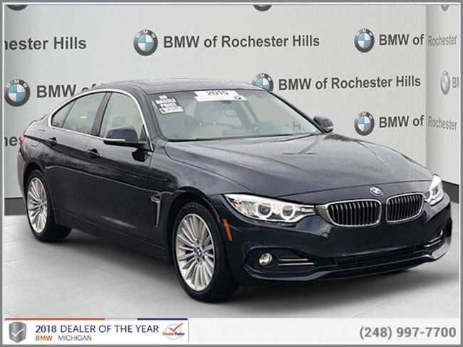 certified used 2015 BMW 428i xDrive Coupe shelby township MI
