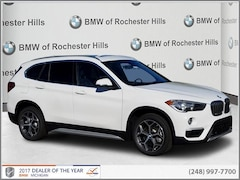 New 2018 BMW X1 xDrive28i SAV WBXHT3C34J3H31179 for Sale near Detroit