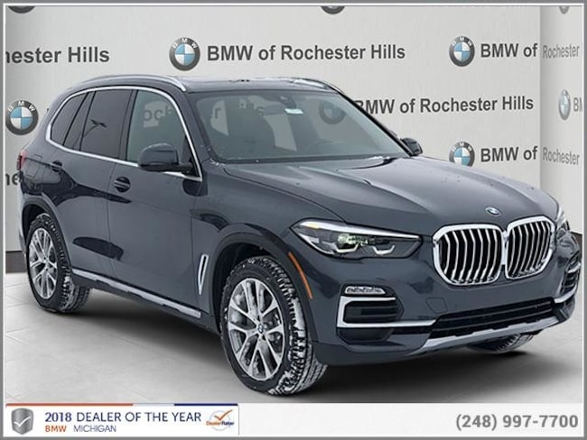 new 2019 BMW X5 xDrive40i SAV in Shelby MI
