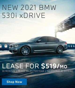 New 2021 530i xDrive Lease Offer