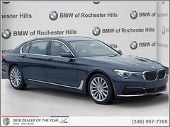 New 2019 BMW 740i xDrive Sedan for Sale near Detroit