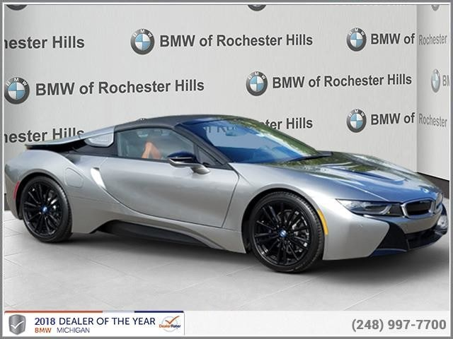 New 2019 Bmw I8 In Shelby Township Mi Near Detroit Sterling Heights Vin Wby2z6c55kvg97861