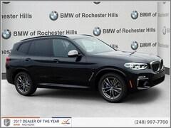 New 2019 BMW X3 M40i SAV 5UXTS3C5XK0Z03810 for Sale near Detroit