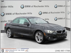 Clearance 2018 BMW 430i xDrive Convertible for sale in Shelby Township, MI