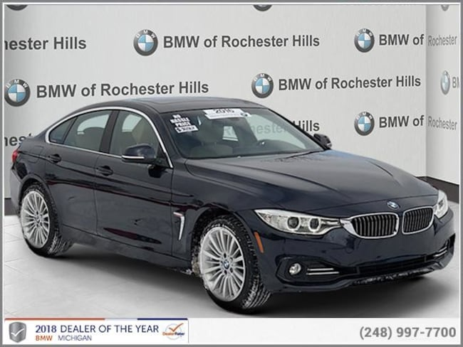 certified used 2016 BMW 428i xDrive w/SULEV Gran Coupe shelby township MI