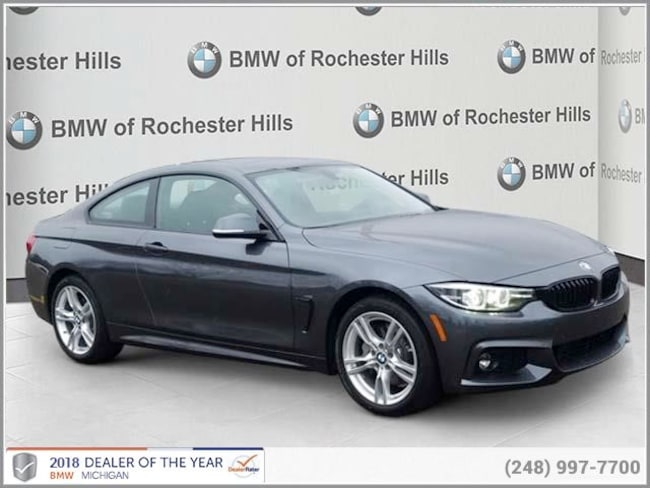 new 2019 BMW 430i xDrive Coupe in Shelby MI