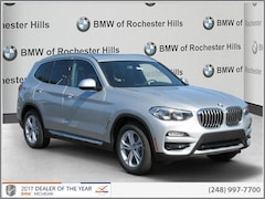 New 2018 BMW X3 xDrive30i SAV 5UXTR9C56JLD71437 for Sale near Detroit