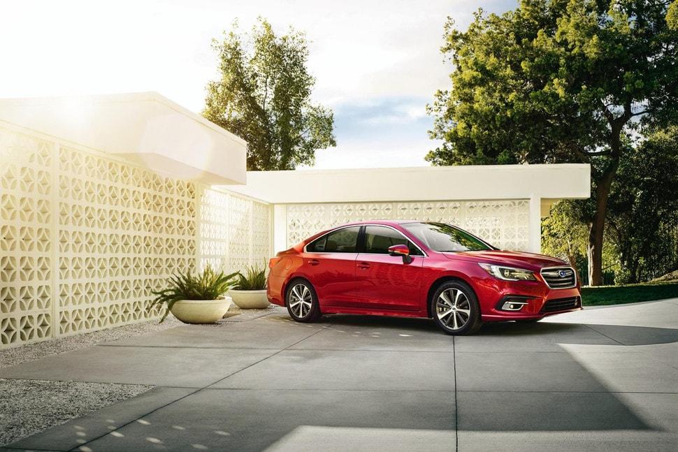 2018 Subaru Legacy new red exterior color