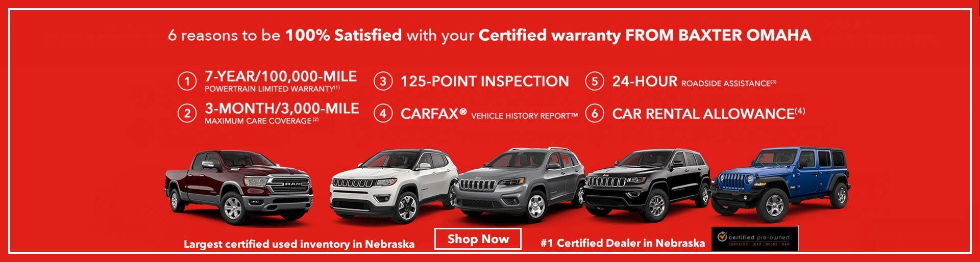 Baxter Auto Omaha >> Baxter Chrysler Dodge Jeep Ram Jeep Sales Service In Omaha Ne