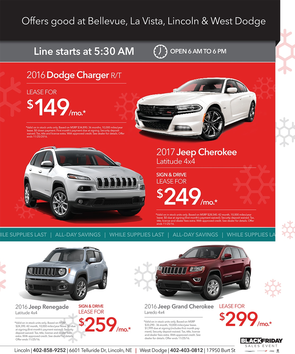chrysler deals black friday