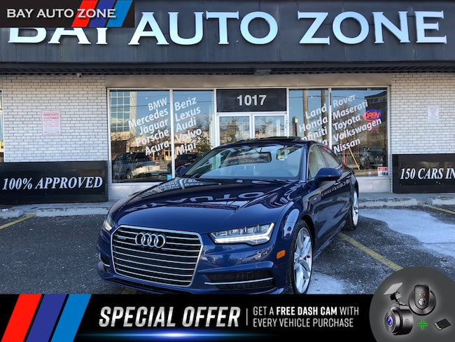 Certified 2016 Audi A7 3.0T S-LINE+NAVIGATION+SUNROOF+POWER TAILGATE Hatchback in Toronto
