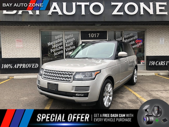 Certified 2015 Land Rover Range Rover 5.0L V8 Supercharged+NAVI+PAN ROOF+ M VIEW CAM SUV in Toronto