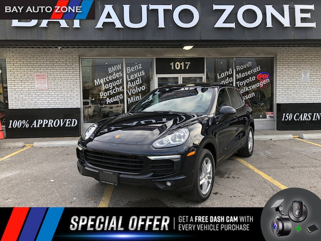 Certified 2016 Porsche Cayenne NAVIGATION+REAR CAMERA+PANO ROOF SUV in Toronto