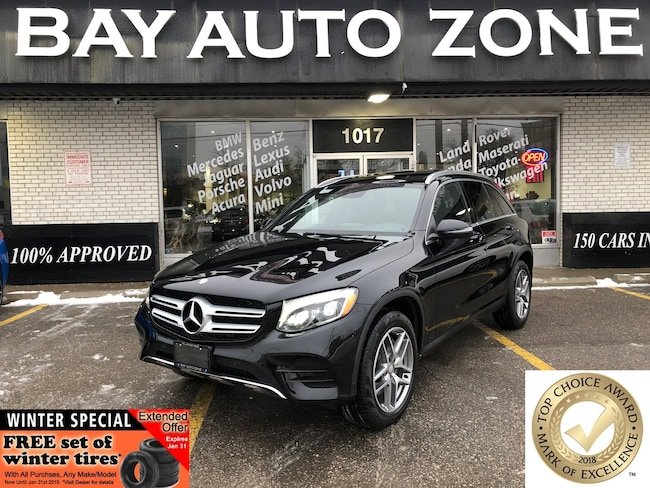 Certified 2016 Mercedes-Benz GLC AMG PKG+BURMESTER SOUND+NAVI+ REAR CAM+PANO ROOF SUV in Toronto