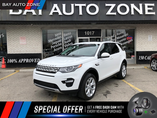 Certified 2016 Land Rover Discovery Sport HSE/7 PASSENGER/NAVI/REAR CAM/PANO ROOF SUV in Toronto