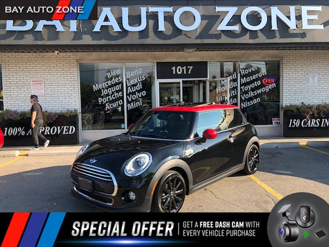 Used 2016 Mini Cooper 3 Door Black For Sale Toronto On Bay Auto