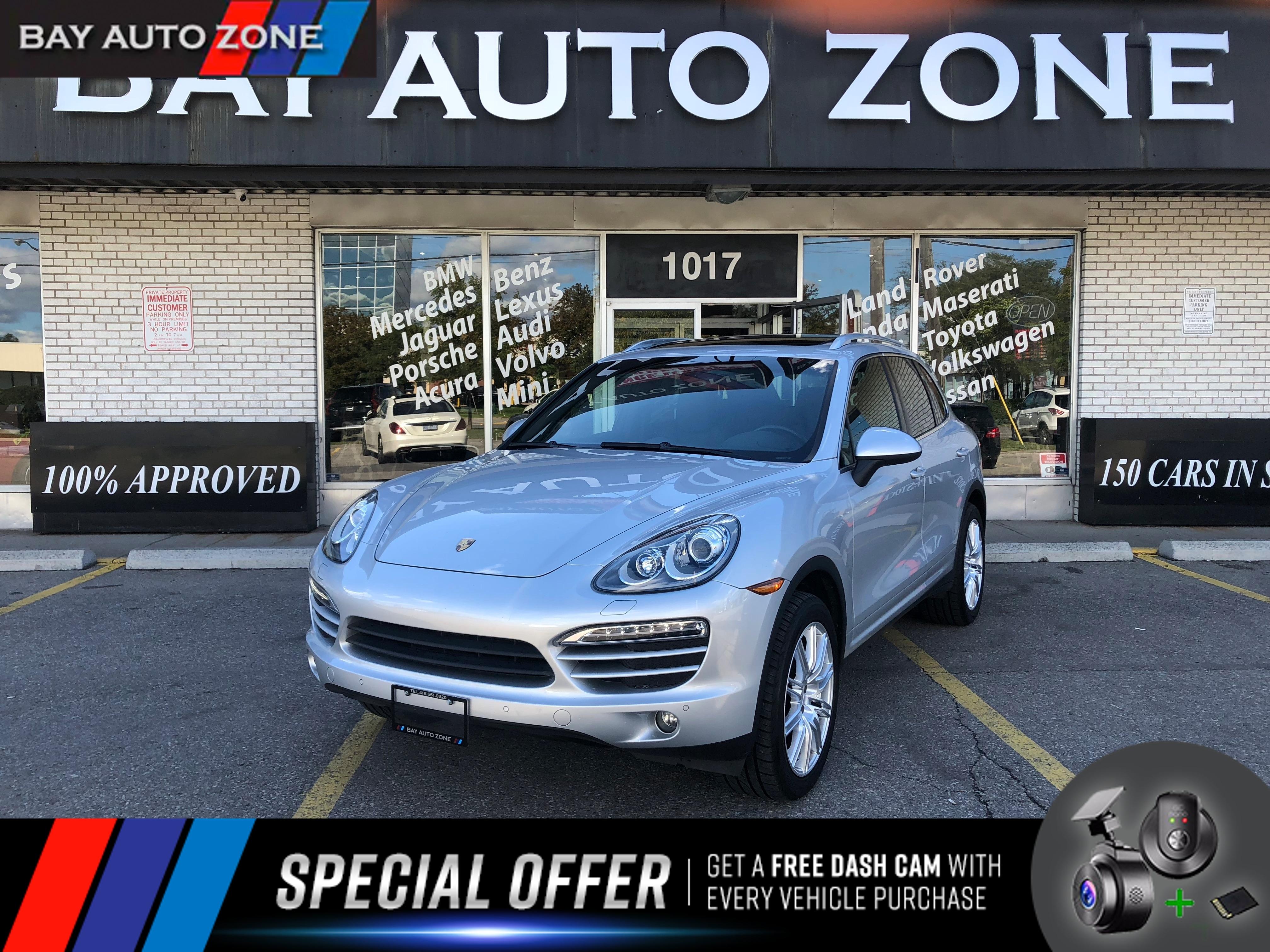 Used 2014 Porsche Cayenne Silver For Sale Toronto ON | Bay Auto Zone