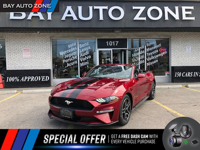 Certified 2018 Ford Mustang EcoBoost Premium+Ventelated Seats+NAVI+R CAM Convertible in Toronto