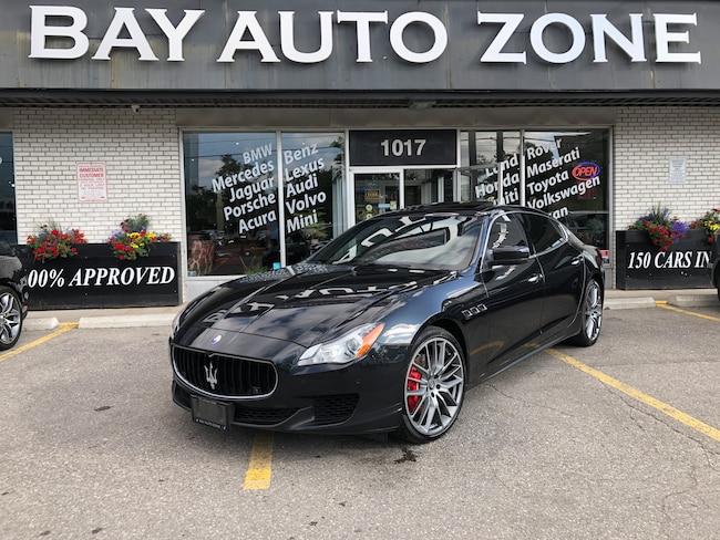 Used 2015 Maserati Quattroporte Black For Sale Toronto ON