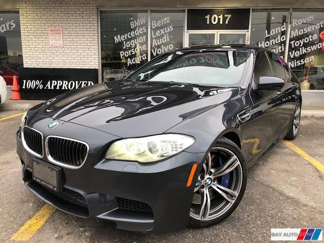 Used 2012 BMW M5 Dark Grey For Sale Toronto ON | Bay Auto Zone