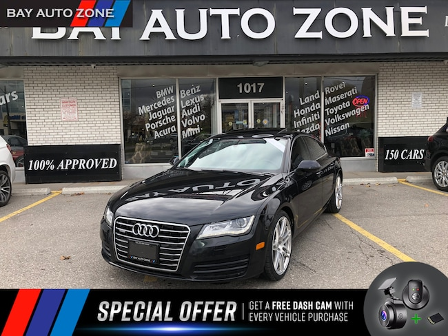 Certified 2014 Audi A7 TDI Progressiv+NAVIGATION+SUNROOF Hatchback in Toronto