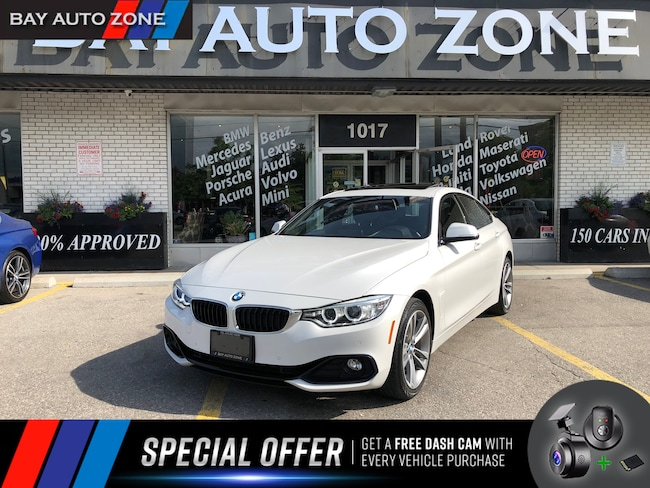 Certified 2016 BMW 428i xDrive+NAVIGATION+REAR CAMERA+SUNROOF Gran Coupe in Toronto