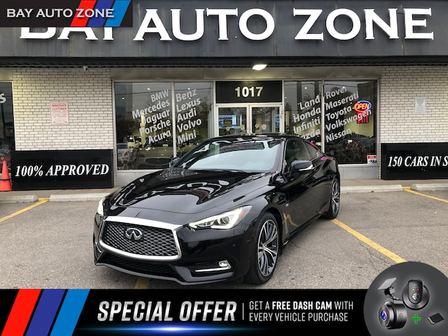 Certified 2017 INFINITI Q60 3.0t AWD**LOW KMS**+NAVI+M VIEW CAM+BOSE SOUND Coupe in Toronto