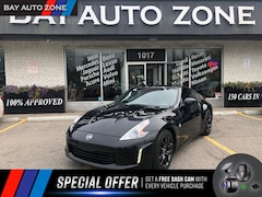 2017 Nissan 370Z HEATING LEATHER SEATS+ 6 SPEED Coupe