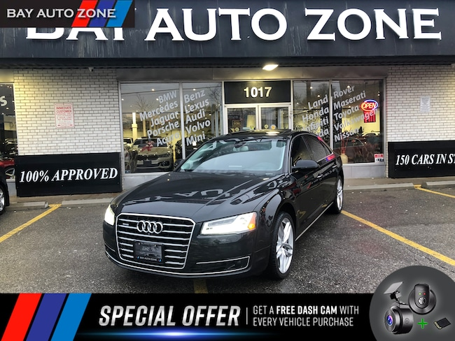 Certified 2015 Audi A8 L 4.0T TECHNIC+NAVI+BOSE SOUND+DVD+PANO ROOF Sedan in Toronto