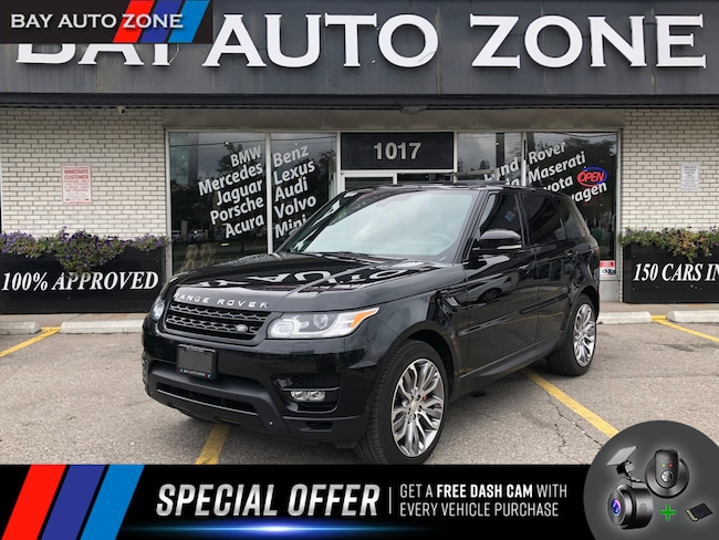 Used 2014 Land Rover Range Rover Sport Black For Sale Toronto On
