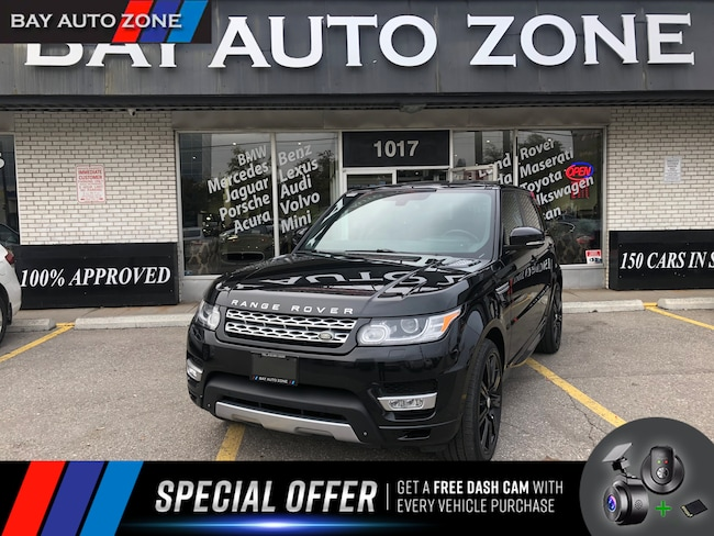Certified 2014 Land Rover Range Rover Sport V6 HSE+NAVIGATION+ REAR VIEW+SUNROOF SUV in Toronto