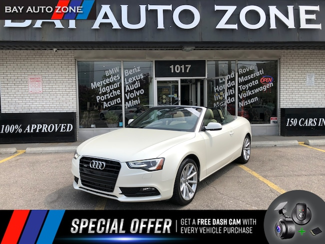 Certified 2014 Audi A5 2.0T Progressiv+NAVIGATION+HEATING SEATS Convertible in Toronto